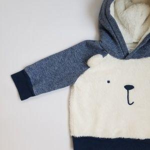 Baby Gap Boys Fuzzy Bear Sweatshirt